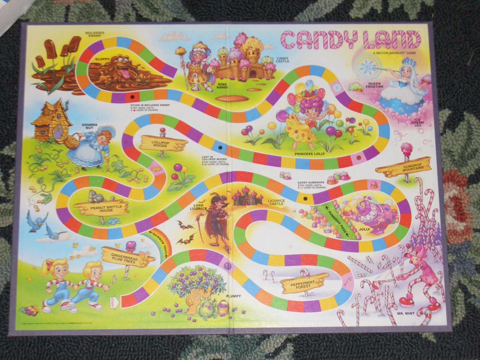 Kicked out of Candyland: The Mysterious Disappearance of Plumpy
